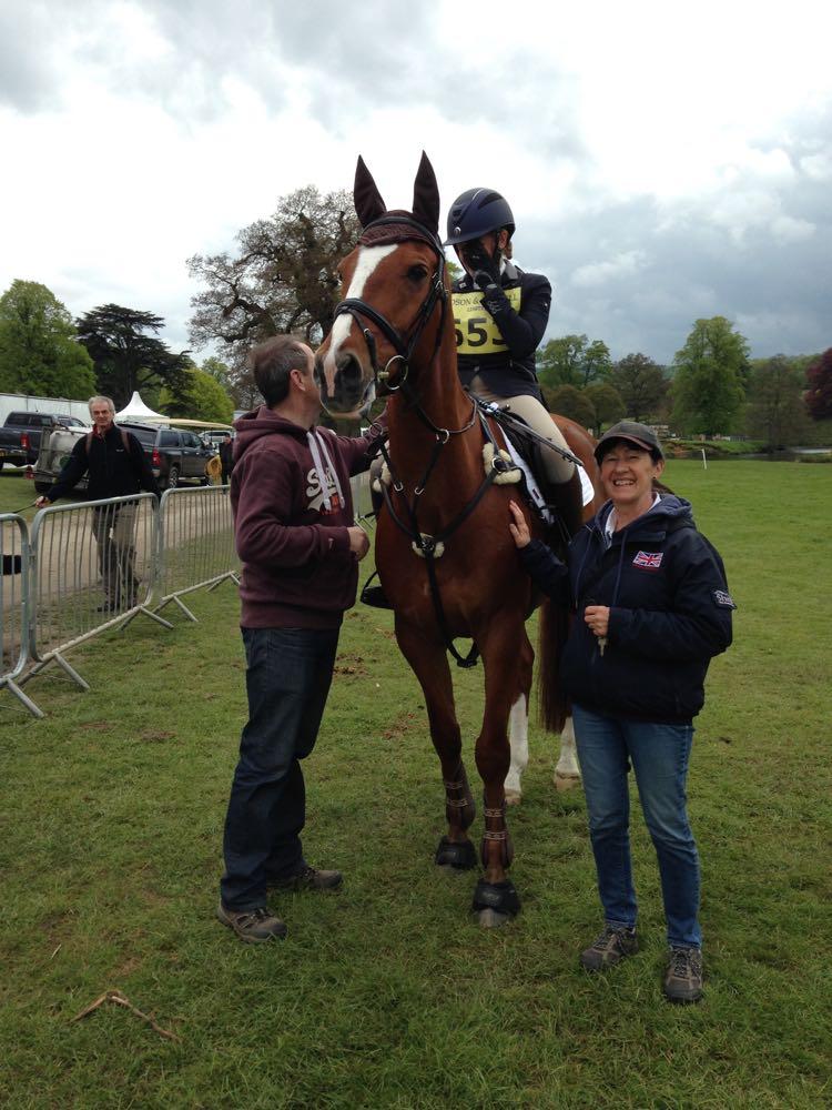 paula dewsbury and horse