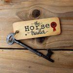 horse trailer keyring