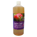 apple cider and garlic