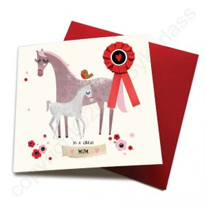great mum horse card