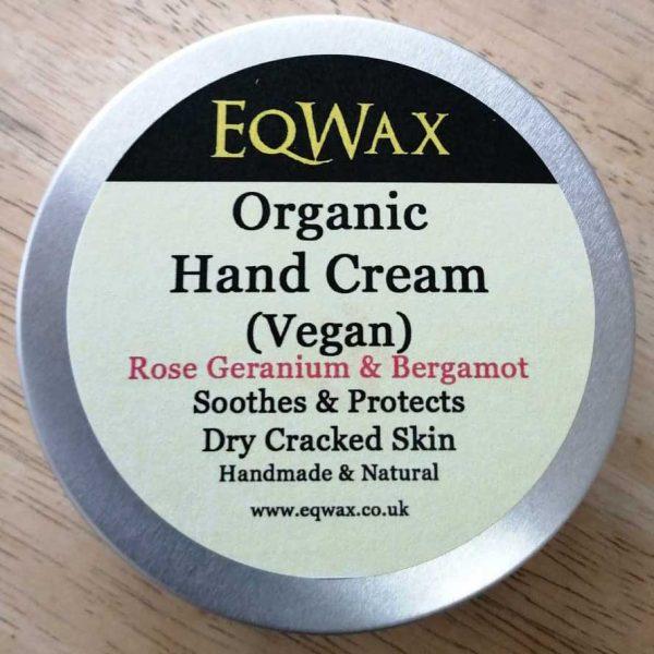 eqwax organic hand cream